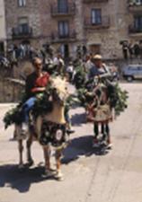 La Ddarata, cavalli vestiti con bellissime bardature realizzate a mano intrecciando rami di alloro