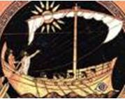 Affresco che rappresenta una nave punica - Menu' Fenicio