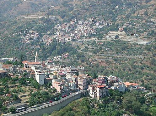 Panorama di Mongiuffi Melia