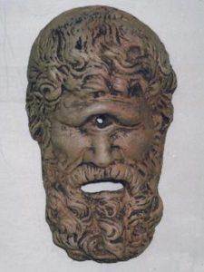 Maschera di Polifemo