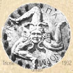 La Trinacria o Thrinakie, che significava Isola a forma di tridente