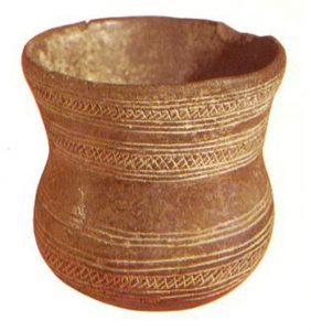Vaso campaniforme neolitico in Sicilia