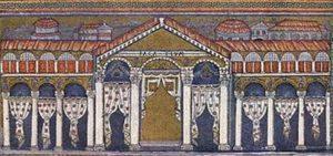 Palazzo di Teodorico a Ravenna, mosaico nella basilica di Sant'Apollinare Nuovo