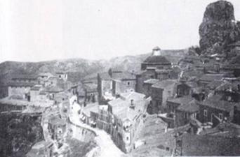 Panorama di San Fratello nel 1890