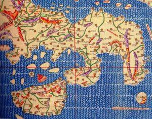 Stralcio della mappa di Idrisi