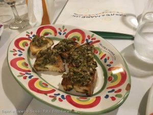 Bruschetta di pesce