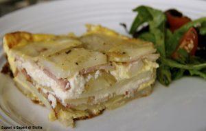 Patate, pancetta e ricotta