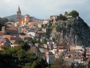 Panorama del Comune di Novara di Sicilia