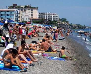 Menù delle vacanze al mare