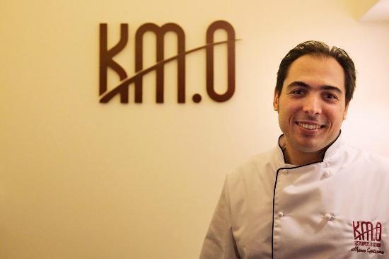 Il Grillo siciliano e i piatti di Marco Cannizzaro