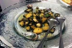 Occhi di bue (abaloni) fritti