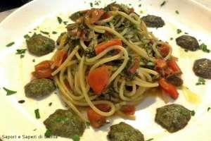 Spaghetti con le patelle