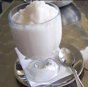Scursunera o gelato al gelsomino foto: Vincenzo Raneri