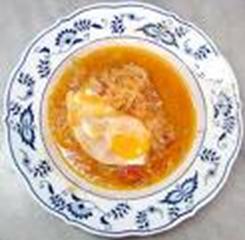Zuppa di uova foto: Vincenzo Raneri